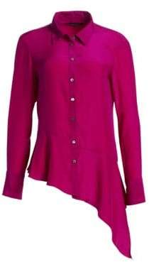 Nanette Lepore Henchman Silk Blouse