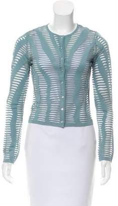 Christian Dior Cutout Knit Cardigan
