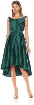 Chetta B Women's Hi Lo Off Shoulder Dress