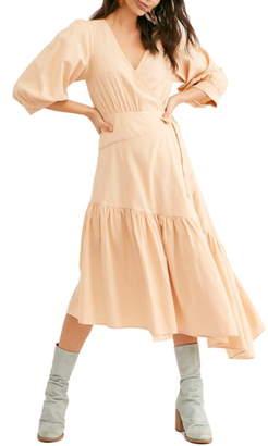 Free People Don't Mind If I Do Midi Dress