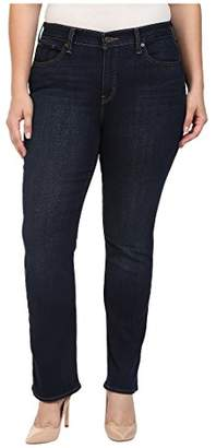 Levi's Women's Plus-Size 414 Classic Straight Jean's