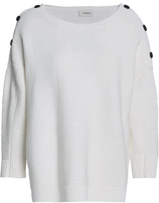 Charli ボタン付き コットン セーター