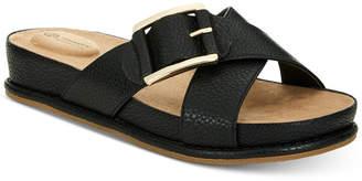 Giani Bernini Balii Slide-On Memory Foam Wedge Sandals, Created for Macy's