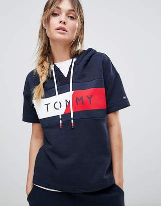 Tommy Hilfiger Flag Logo Short Sleeve Sweat