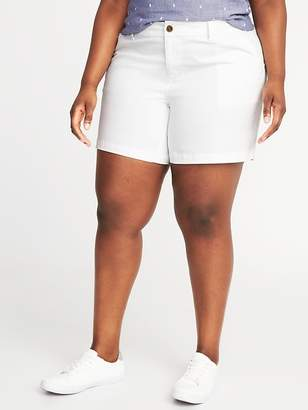 """Old Navy Mid-Rise Plus-Size Everyday Shorts (7"""")"""
