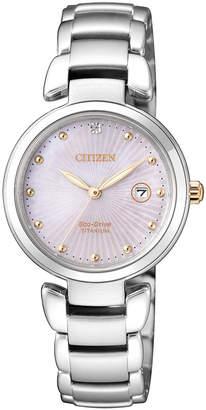 Citizen Ladies Silver Watch AN8174-58E