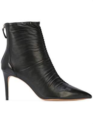 Alexandre Birman ruched detail boots