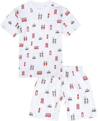 Kissy Kissy London Print Pyjamas