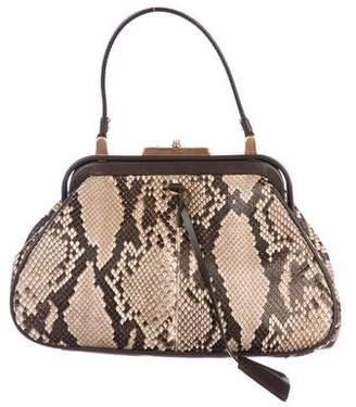 Prada Python Frame Bag