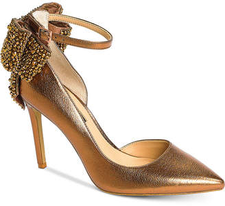 INC International Concepts I.N.C. Kaison Evening Bow Pumps, Created for Macy's