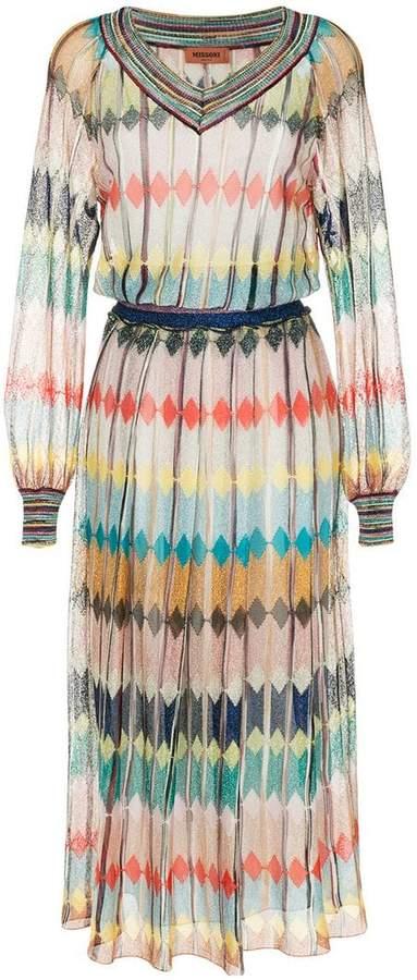 long fine knit dress