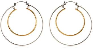 Alexander McQueen Double Hoop Earrings