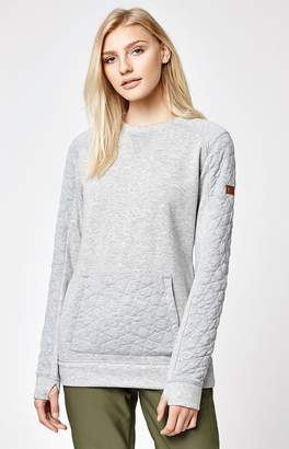 Roxy Snow Resin Midlayer Pullover Sweatshirt