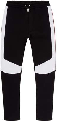 Balmain Colour Block Sweatpants