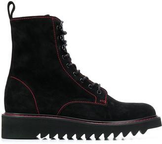 Giuseppe Zanotti ankle lace-up boots