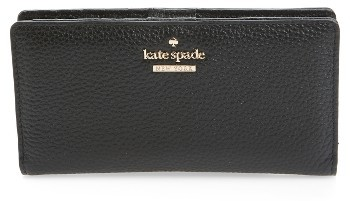 Kate Spade Women's Kate Spade New York Jackson Street Stacy Leather Wallet - Black