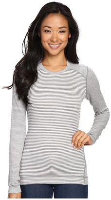 Smartwool - NTS Mid 250 Pattern Crew Top Women's Long Sleeve Pullover $105 thestylecure.com