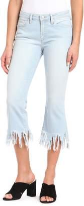 Mavi Jeans Anika Frayed Hem Cropped Jeans