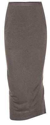 Rick Owens Lilies knit tube skirt