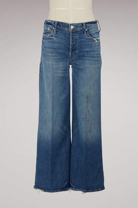 Mother The Stunner wide-cut jeans