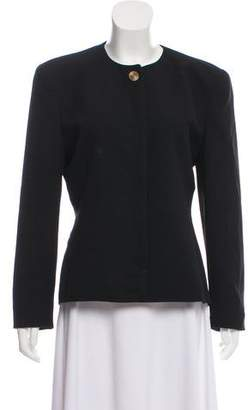Christian Dior Structured Button-Up Jacket