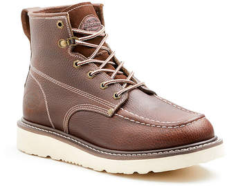 Dickies Mens Trader Work Boots Flat Heel Lace-up