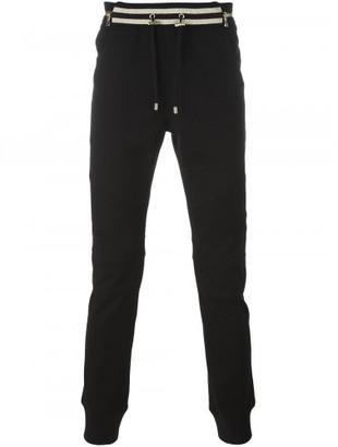 Balmain biker track pants $1,040 thestylecure.com