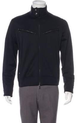 Ralph Lauren Black Label Lightweight Faux Leather-Trimmed Jacket