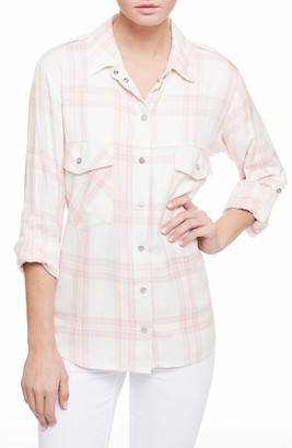 Women's Sanctuary Plaid Boyfriend Shirt $79 thestylecure.com