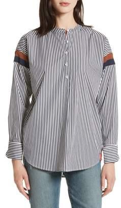 Kule The Wallis Stripe Cotton Shirt