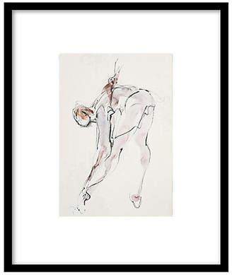 The Portfolio Collection Bella Pieroni - Dancer Stretching I Art