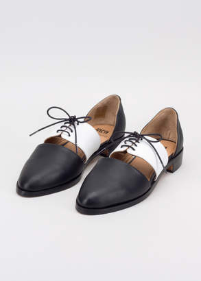 WildFang Fortress Of Inca Fortress of Inca x Black White Exclusive Carmen Shoe   Carmen Shoe - BLACK WHITE - 6