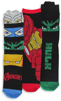Disney Avengers Three Pair Sock Set