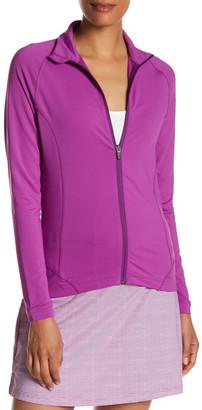 Peter Millar Tamara Full Zip Solid Jacket $109.50 thestylecure.com