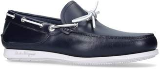 Salvatore Ferragamo Caraibi Boat Shoes