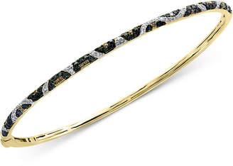 Effy Multi-Color Diamond Bangle Bracelet (1/2 ct. t.w.) in 14k Gold