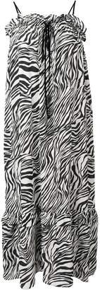 McQ zebra print dress