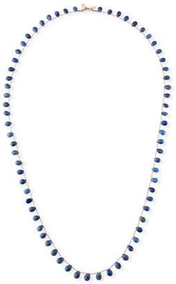 """Margo Morrison Long Teardrop Stone Necklace, 36""""L"""