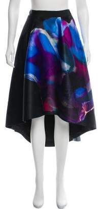 Ted Baker High-Low Printed Skirt