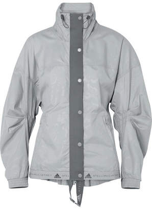 adidas by Stella McCartney Run Wind Shell Jacket - Gray