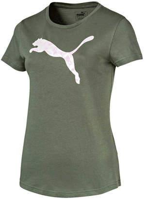 Puma Womens Graphic Logo Tee