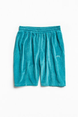 Stussy Piped Velour Short $60 thestylecure.com