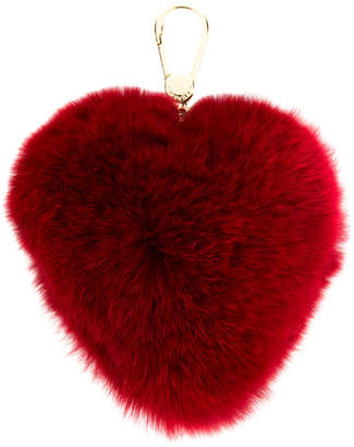 Furla heart-shaped Bubble key ring