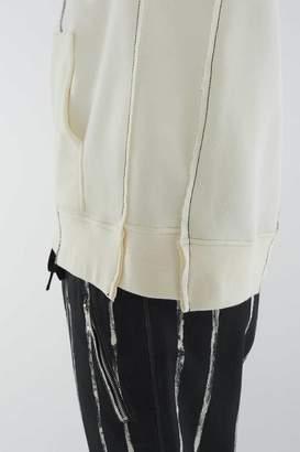 3.1 Phillip Lim Short-Sleeve Re-Constructed Sweatshirt