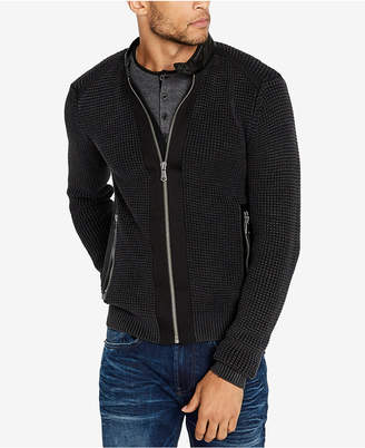 Buffalo David Bitton Men's Wituckle Regular-Fit Full-Zip Sweater
