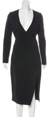 Nicholas Long Sleeve Midi Dress