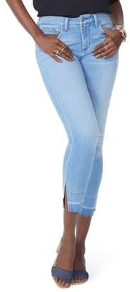 NYDJ Ami High Waist Wide Release Hem Skinny Ankle Jeans