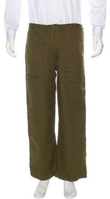Acne Studios Blå Konst Hill Twill Utility Trousers