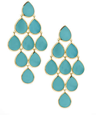 Ippolita 18k Polished Rock Candy Cascade Earrings