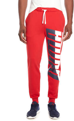 Puma Loud Pack Logo Sweatpants